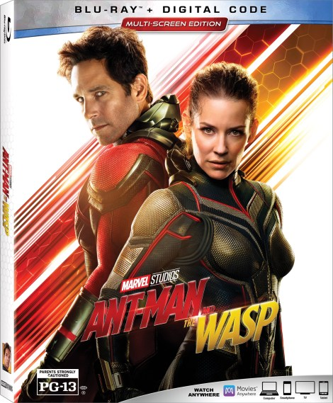 [GIVEAWAY] Win Marvel's 'Ant-Man And The Wasp' On Blu-ray: Available On 4K Ultra HD, Blu-ray & DVD October 16, 2018 From Marvel Studios 2