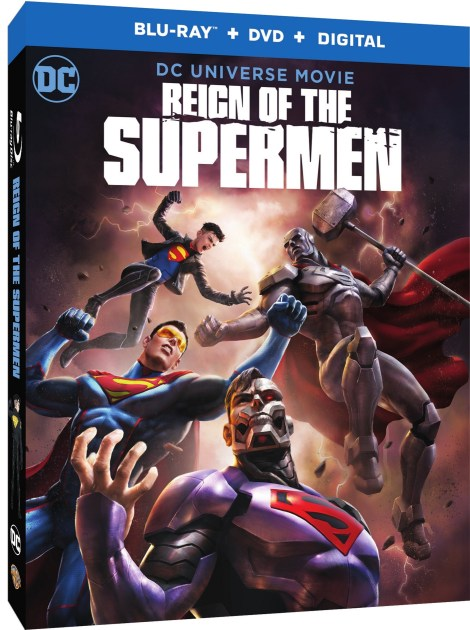 Trailer, Artwork & Release Details For 'Reign Of The Supermen'; Arrives On Digital January 15 & On 4K Ultra HD, Blu-ray & DVD January 29, 2019 From DC & Warner Bros 5