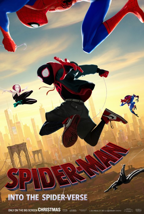 The New Trailer & Poster For Sony's Animated 'Spider-Man: Into The Spider-Verse' Film Swing Into Our World 2