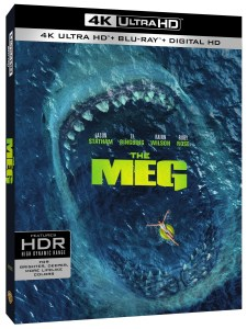 'The Meg'; Arrives On Digital October 30 & On 4K Ultra HD, Blu-ray & DVD November 13, 2018 From Warner Bros 1