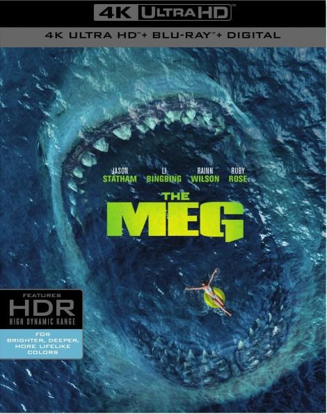 'The Meg'; Arrives On Digital October 30 & On 4K Ultra HD, Blu-ray & DVD November 13, 2018 From Warner Bros 4