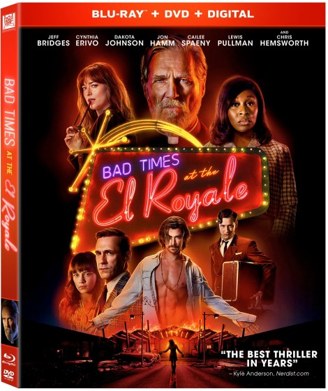 'Bad Times At The El Royale'; Arrives On Digital December 18 & On 4K Ultra HD, Blu-ray & DVD January 1, 2019 From Fox Home Ent. 3