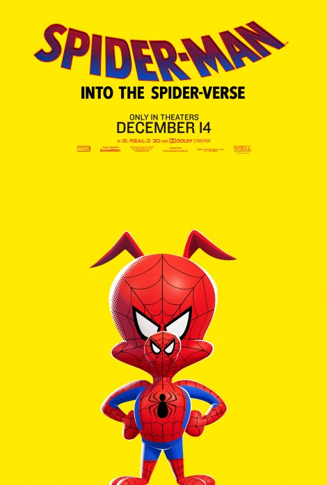 Check Out 6 New Character Posters From Sony's 'Spider-Man: Into The Spider-Verse' Animated Movie 4