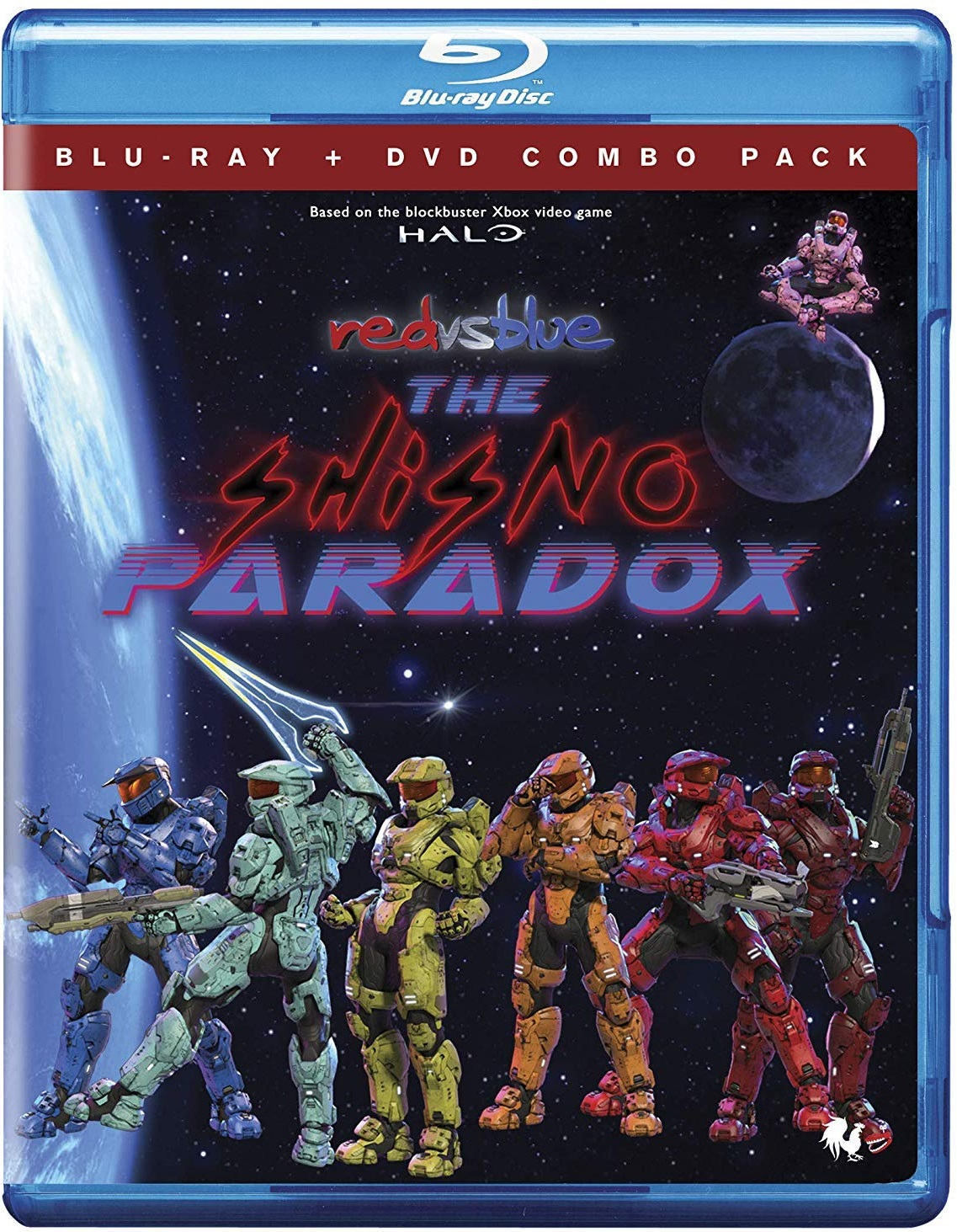 [GIVEAWAY] Win 'Red Vs Blue: The Shisno Paradox' On Blu-ray: Available On Blu-ray + DVD Combo January 1, 2019 From Rooster Teeth & Cinedigm 14