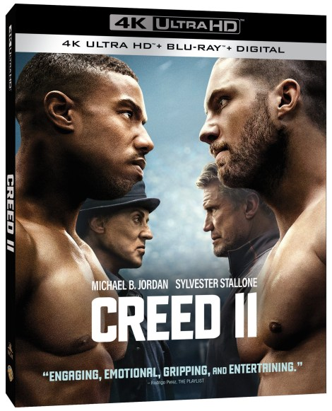 'Creed II'; Arrives On Digital February 12 & On 4K Ultra HD, Blu-ray & DVD March 5, 2019 From MGM & Warner Bros 2