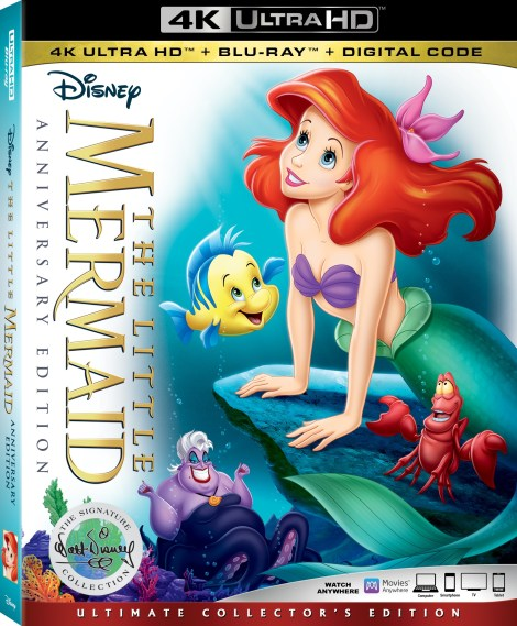 Disney's 'The Little Mermaid' Anniversary Edition; Joining The Walt Disney Signature Collection On Digital February 12 & On 4K Ultra HD, Blu-ray & DVD February 26, 2019 From Disney 3