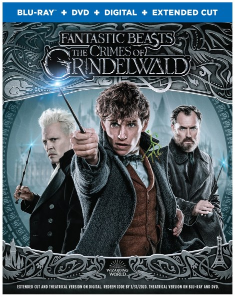 'Fantastic Beasts: The Crimes Of Grindelwald'; Arrives On Digital February 15 & On 4K Ultra HD, Blu-ray & DVD March 12, 2019 From Warner Bros 5