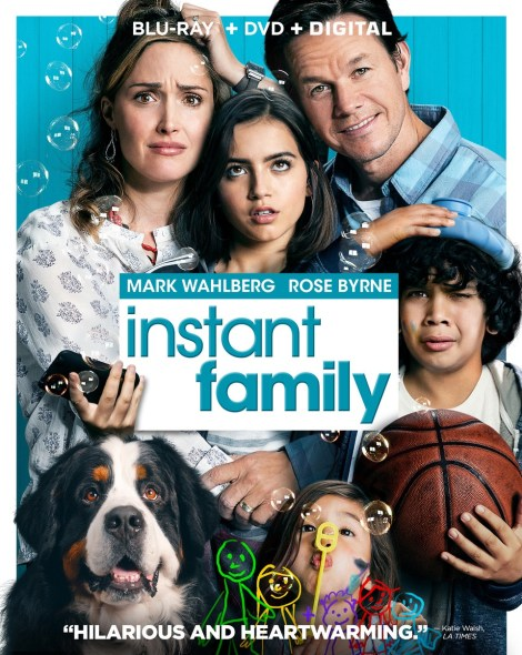 'Instant Family'; Arrives On Digital February 19 & On Blu-ray & DVD March 5, 2019 From Paramount 3