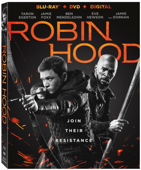 'Robin Hood'; The Latest Retelling Of The Classic Tale Arrives On Digital February 5 & On 4K Ultra HD, Blu-ray & DVD February 19, 2019 From Lionsgate 7