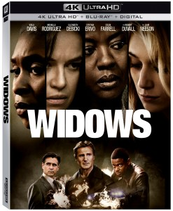 'Widows'; The Heist Thriller From Director Steve McQueen Arrives On 4K Ultra HD, Blu-ray & DVD February 5, 2019 From Fox Home Ent. 1