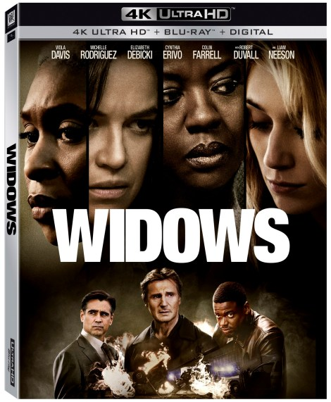 'Widows'; The Heist Thriller From Director Steve McQueen Arrives On 4K Ultra HD, Blu-ray & DVD February 5, 2019 From Fox Home Ent. 4