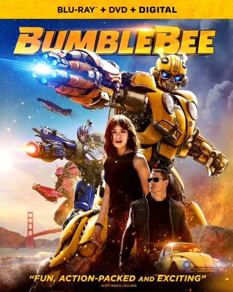 'Bumblebee'; Arrives On Digital March 19 & On 4K Ultra HD, Blu-ray & DVD April 2, 2019 From Paramount 6