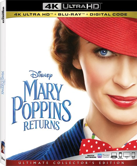 Disney's 'Mary Poppins Returns'; Arrives On Digital March 12 & On 4K Ultra HD, Blu-ray & DVD March 19, 2019 From Disney 5