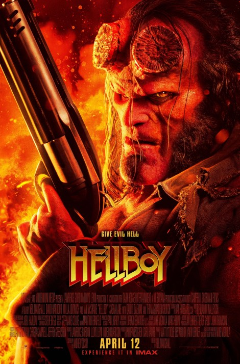 Check Out A New Red Band Trailer & 3 New Posters For The Upcoming 'Hellboy' Movie 3