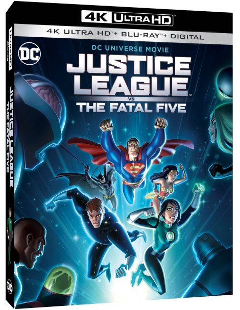 Trailer, Artwork & Release Details For 'Justice League Vs. The Fatal Five'; Arrives On Digital March 30 & On 4K Ultra HD, Blu-ray & DVD April 16, 2019 From DC & Warner Bros 2
