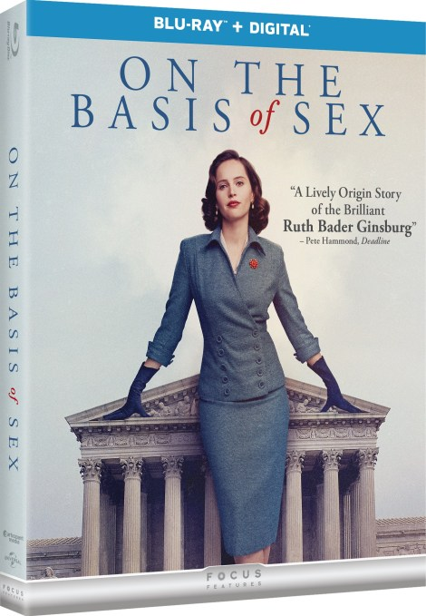 'On The Basis Of Sex'; Arrives On Digital March 26 & On Blu-ray & DVD April 9, 2019 From Universal 3