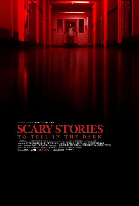 The Official Teaser Trailer & 2 New Posters For 'Scary Stories To Tell In The Dark' Bring The Creepy Fun 2