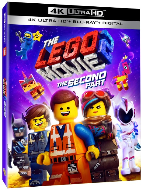 'The Lego Movie 2: The Second Part'; Arrives On Digital April 16 & On 4K Ultra HD, Blu-ray & DVD May 7, 2019 From Warner Bros 4