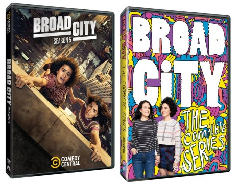 'Broad City: Season 5' & 'Broad City: The Complete Series'; Both Arrive On DVD July 9, 2019 From Paramount 1