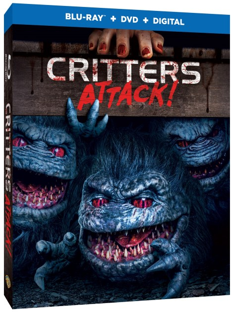 Artwork, Trailer & Release Details for 'Critters Attack!'; Arrives On Blu-ray, DVD & Digital July 23, 2019 From Warner Bros 2