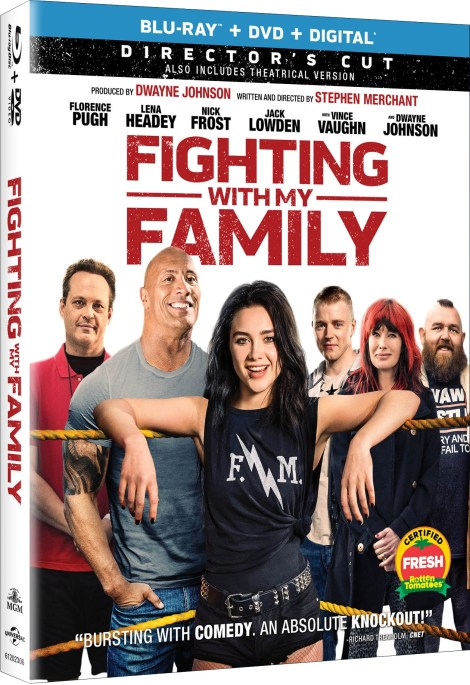 'Fighting With My Family'; Arrives On Digital April 30 & On Blu-ray & DVD May 14, 2019 From MGM & Universal 6