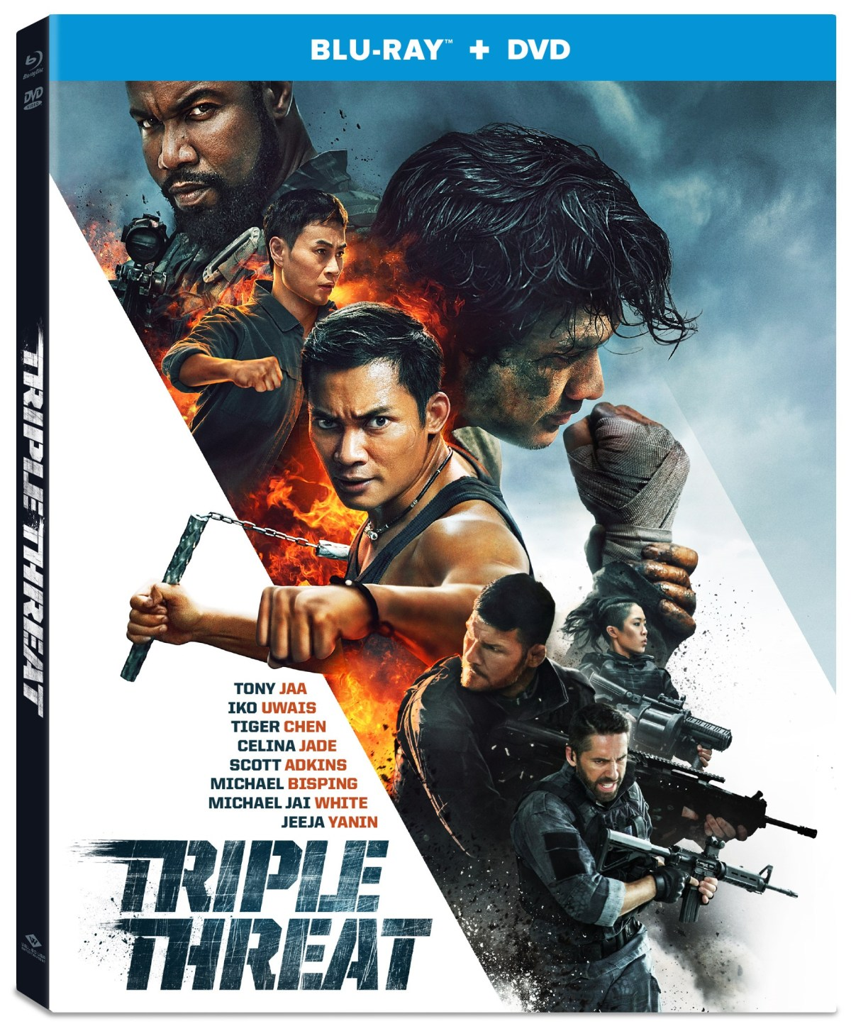 [GIVEAWAY] Win 'Triple Threat' On Blu-ray/DVD Combo Pack: Available On Blu-ray & DVD May 14, 2019 From Well Go USA 4