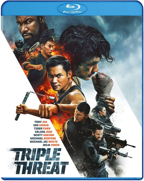 'Triple Threat'; The Action-Packed Film Arrives On Blu-ray & DVD May 14, 2019 From Well Go USA 3
