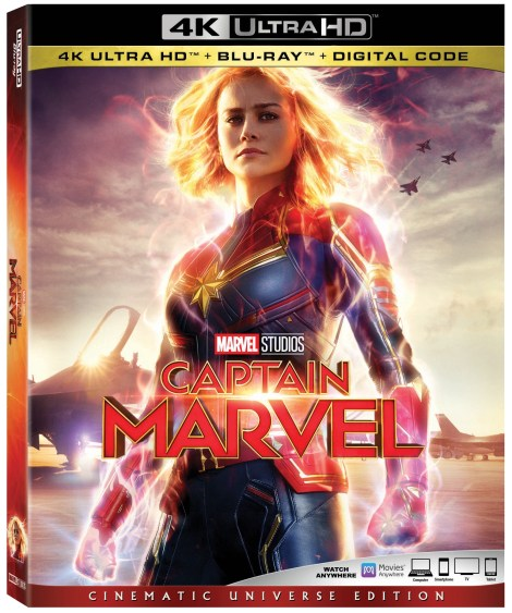 'Captain Marvel'; Arrives On Digital May 28 & On 4K Ultra HD, Blu-ray & DVD June 11, 2019 From Marvel Studios 3
