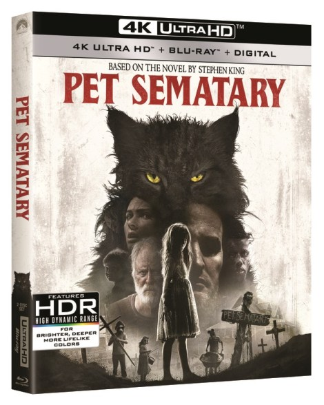 [GIVEAWAY] Win 'Pet Sematary' On 4K Ultra HD: Available On 4K Ultra HD, Blu-ray & DVD July 9, 2019 From Paramount 2