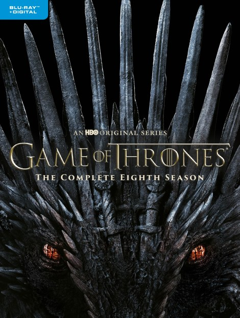 'Game Of Thrones: The Complete Collection' & 'Game Of Thrones: Season 8'; Arriving On Blu-ray & DVD December 3, 2019 From HBO 8