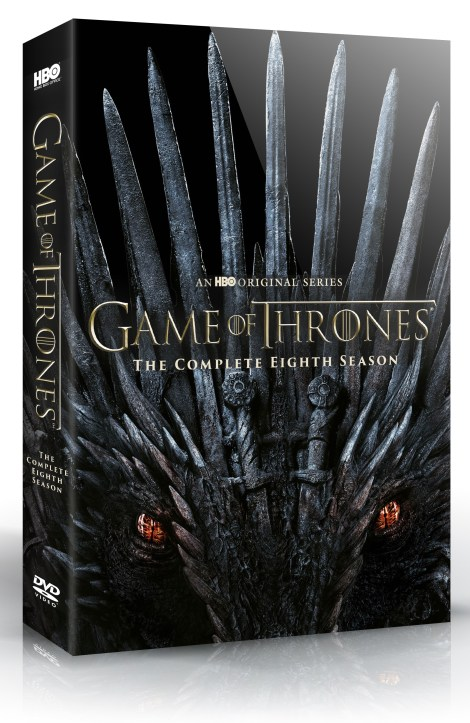 'Game Of Thrones: The Complete Collection' & 'Game Of Thrones: Season 8'; Arriving On Blu-ray & DVD December 3, 2019 From HBO 9