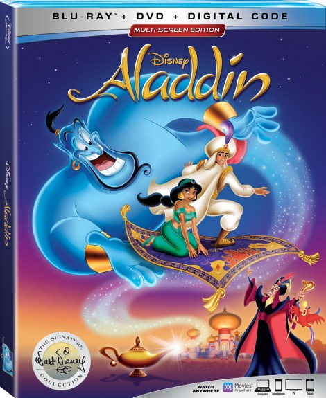 Disney's 'Aladdin'; The Animated Classic Joins The Walt Disney Signature Collection On Digital August 27 & On 4K Ultra HD & Blu-ray September 10, 2019 From Disney 4
