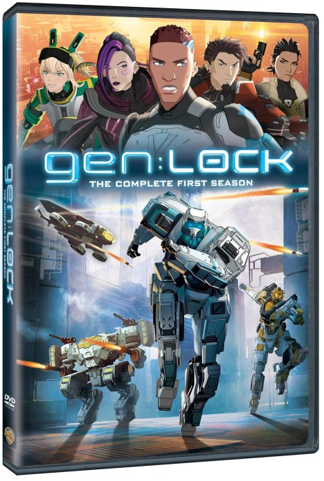 'gen:LOCK - The Complete First Season'; Arrives On Digital July 9 & On Blu-ray & DVD October 1, 2019 From Rooster Teeth & Warner Bros 3