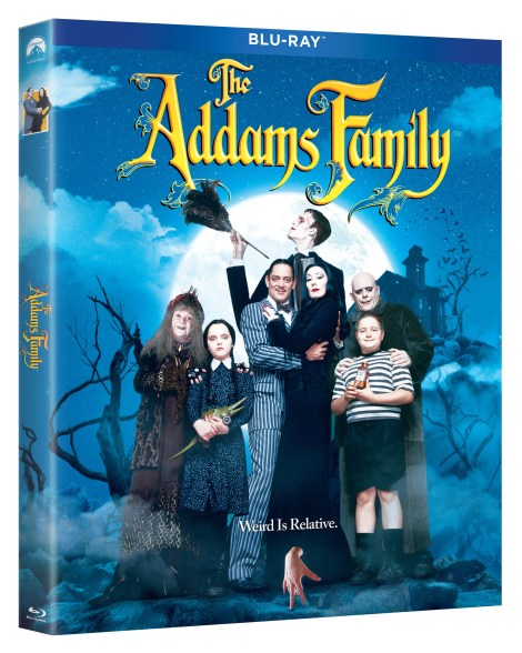 'The Addams Family' & 'Addams Family Values'; Both Films Arrive On Blu-ray, DVD & In a 2-Movie Collection October 1, 2019 From Paramount 3