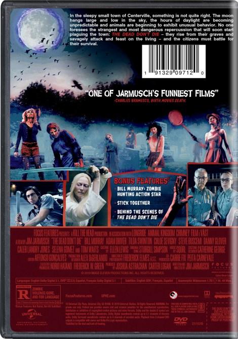 'The Dead Don't Die'; Arrives On Digital September 3 & On Blu-ray & DVD September 10, 2019 From Universal 9