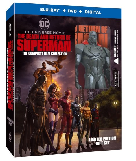 'The Death And Return Of Superman'; The Complete Film Collection Arrives On 4K Ultra HD & Blu-ray October 1, 2019 From DC & Warner Bros 3