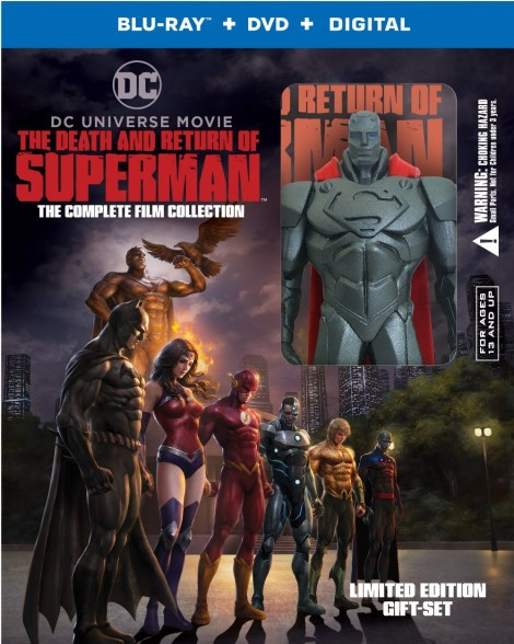 'The Death And Return Of Superman'; The Complete Film Collection Arrives On 4K Ultra HD & Blu-ray October 1, 2019 From DC & Warner Bros 4