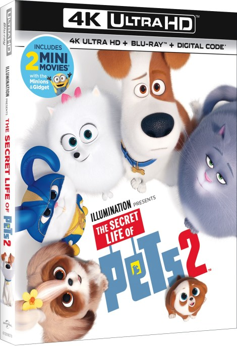 'The Secret Life Of Pets 2'; Arrives On Digital August 13 & On 4K Ultra HD, Blu-ray & DVD August 27, 2019 From Illumination & Universal 3