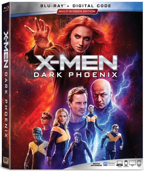 'X-Men: Dark Phoenix'; Arrives On Digital September 3 & On 4K Ultra HD, Blu-ray & DVD September 17, 2019 From Marvel & Fox 5