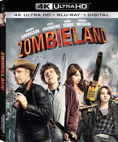 'ZOMBIELAND'; The Modern Cult Classic Celebrates Its 10th Anniversary On 4K Ultra HD October 1, 2019 From Sony 2
