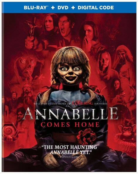 Annabelle Comes Home; The Terrifying New Chapter Arrives On Digital September 17 & On Blu-ray & DVD October 8, 2019 From Warner Bros 8