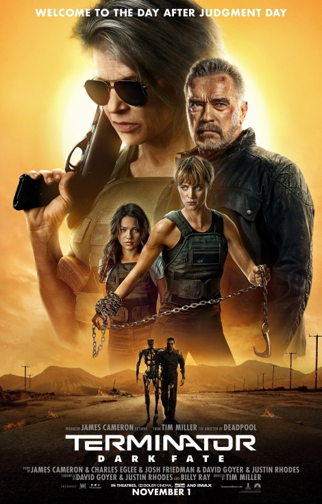 The New Trailer & Poster For 'Terminator: Dark Fate' Are Here! 2