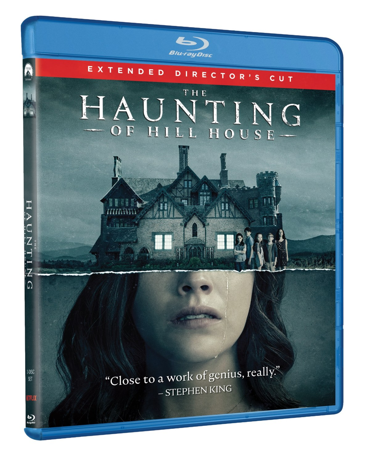 The Haunting of Hill House Blu-ray cover