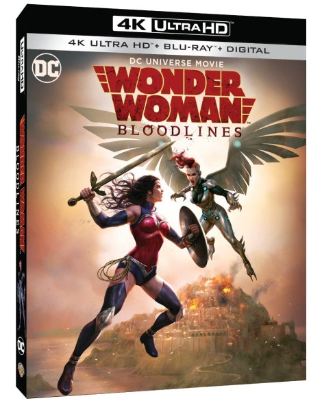 Trailer, Artwork & Release Info For 'Wonder Woman: Bloodlines'; Arrives On Digital October 5 & On 4K Ultra HD & Blu-ray October 22, 2019 From DC & Warner Bros 3