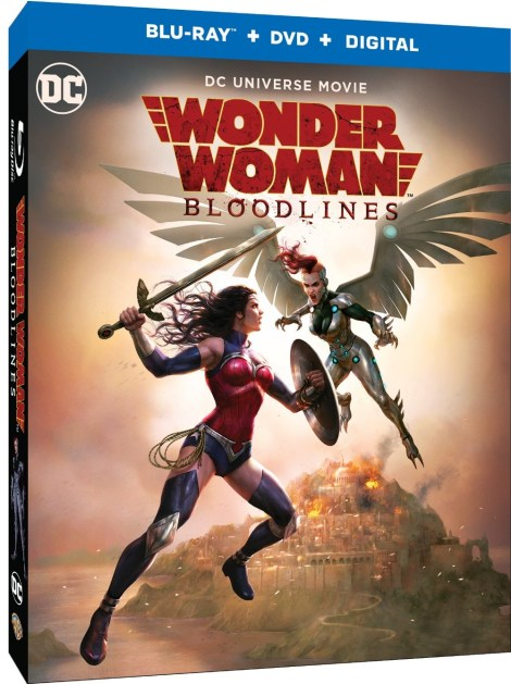 Trailer, Artwork & Release Info For 'Wonder Woman: Bloodlines'; Arrives On Digital October 5 & On 4K Ultra HD & Blu-ray October 22, 2019 From DC & Warner Bros 5