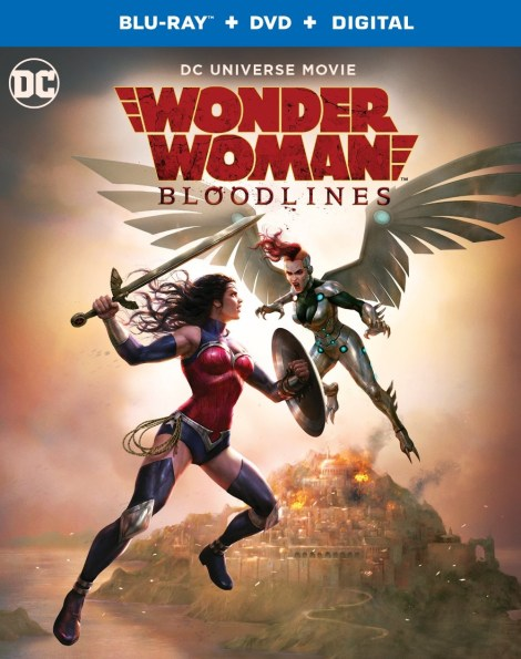 Trailer, Artwork & Release Info For 'Wonder Woman: Bloodlines'; Arrives On Digital October 5 & On 4K Ultra HD & Blu-ray October 22, 2019 From DC & Warner Bros 6