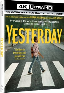 Yesterday; The New Film From Danny Boyle Arrives On Digital September 10 & On 4K Ultra HD, Blu-ray & DVD September 24, 2019 From Universal 1
