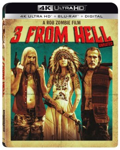 Rob Zombie's '3 From Hell'; Arrives On 4K Ultra HD, Blu-ray, DVD & Digital October 15, 2019 From Lionsgate 1
