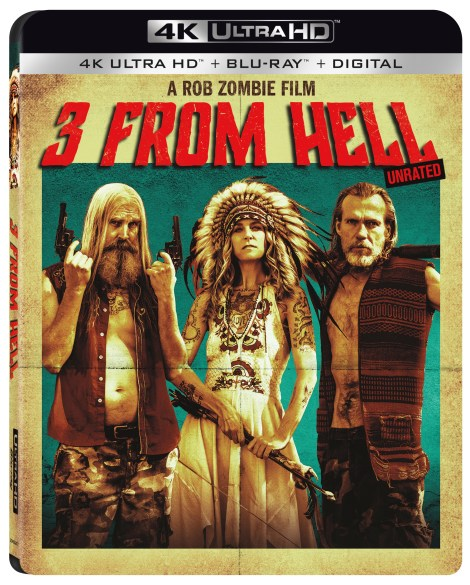 Rob Zombie's '3 From Hell'; Arrives On 4K Ultra HD, Blu-ray, DVD & Digital October 15, 2019 From Lionsgate 5