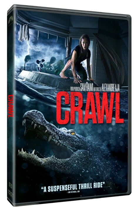 Crawl; The Alexandre Aja Directed Thriller Arrives On Digital September 24 & On Blu-ray & DVD October 15, 2019 From Paramount 5